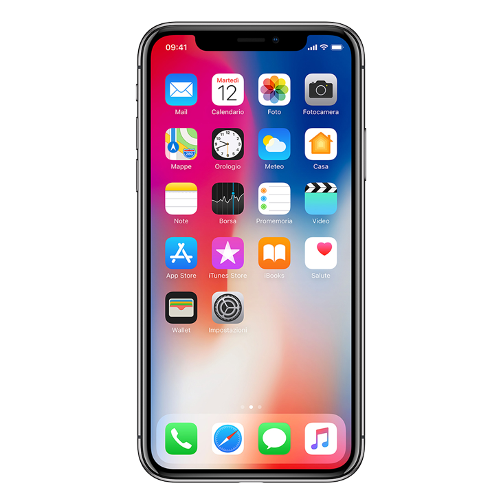 iPhone X vodafone business